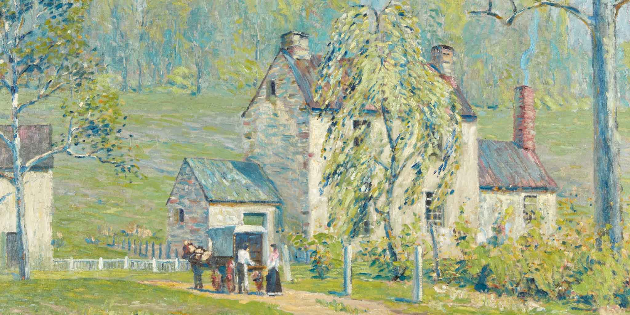 American Art and Pennsylvania Impressionists Featuring the Collection of Virginia and Stuart Peltz