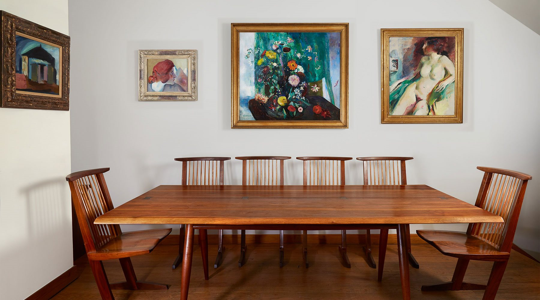 Paintings from the Ottenberg Collection featuring Arthur Beecher Carles