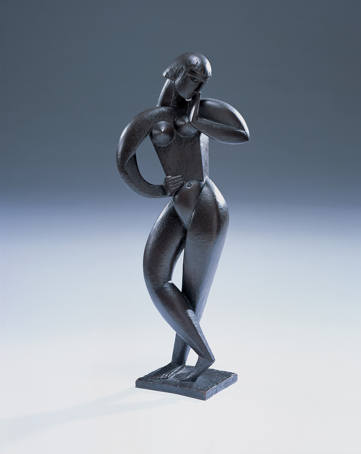 Jacques Lipchitz (French 1891-1973), Danseuse, Bronze with dark brown patina, Sold at Freeman's for $420,000