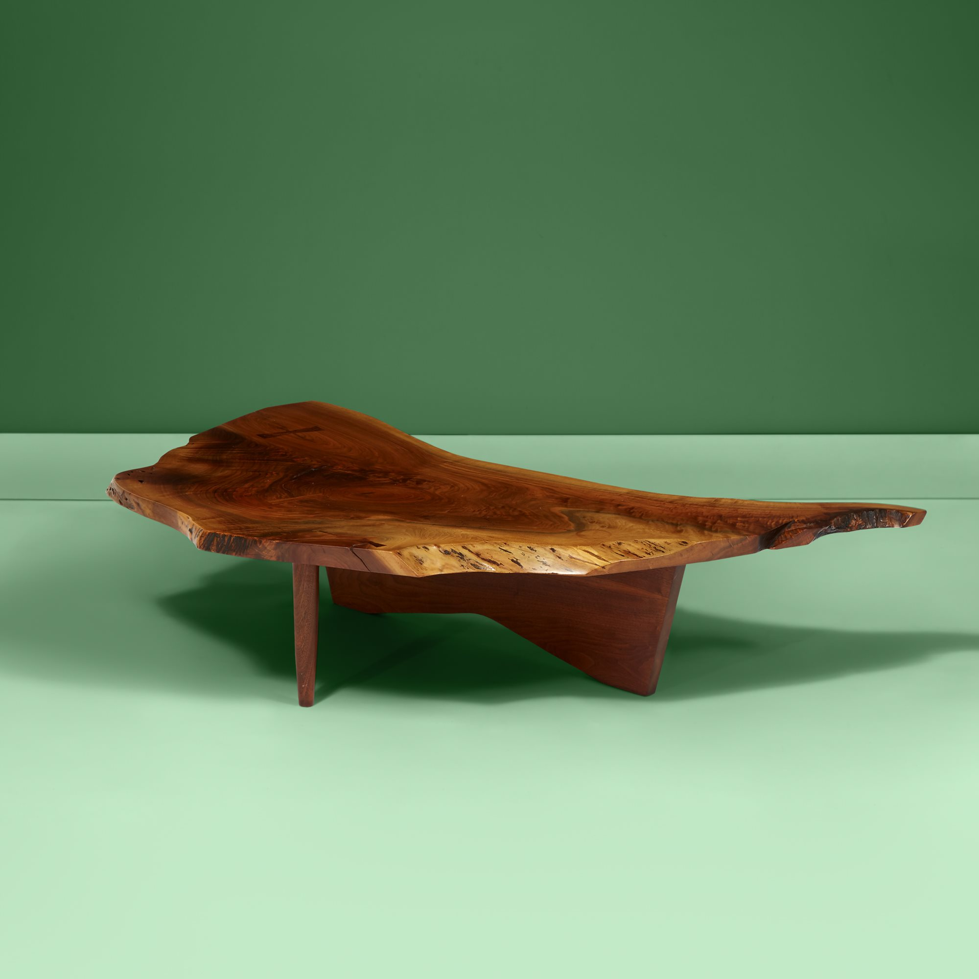 Lot 20  |  Special Conoid Coffee Table, New Hope, Pennsylvania, 1970, $20,000-30,000