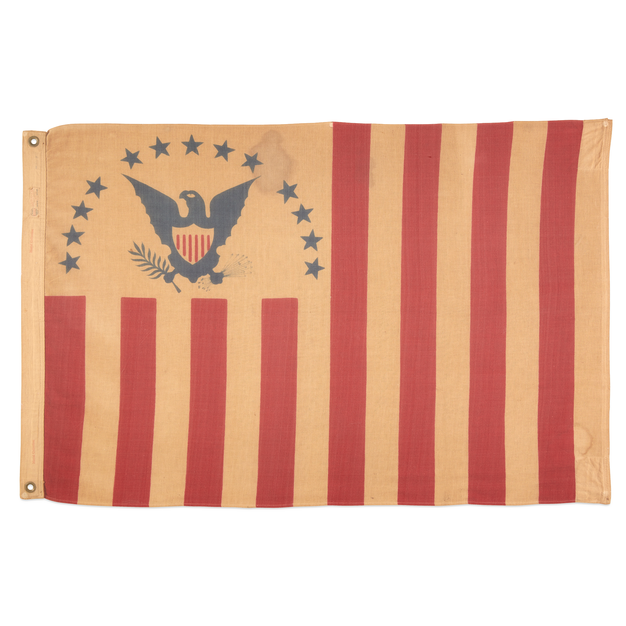 Lot 2 | A United States Revenue Cutter Service Ensign, Annin Flag Company (1847-present), early 20th century, $8,000-12,000