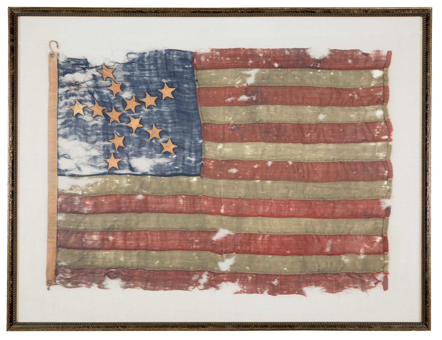 A 13-star American National Flag in the
