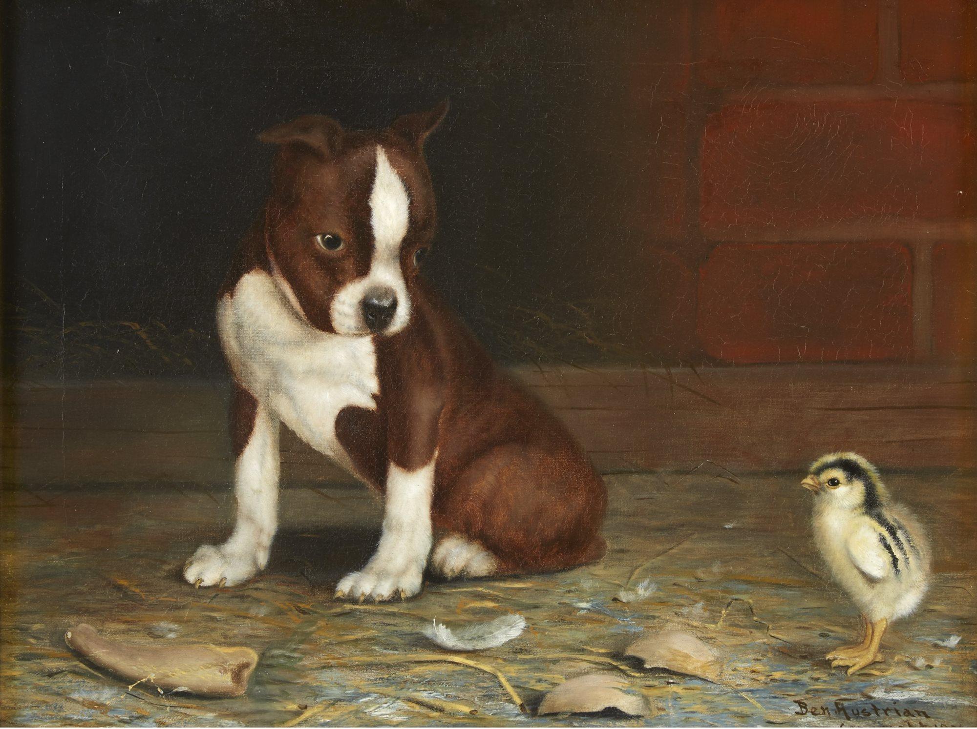 Lot 33  |  Ben Austrian (American 1870-1921),