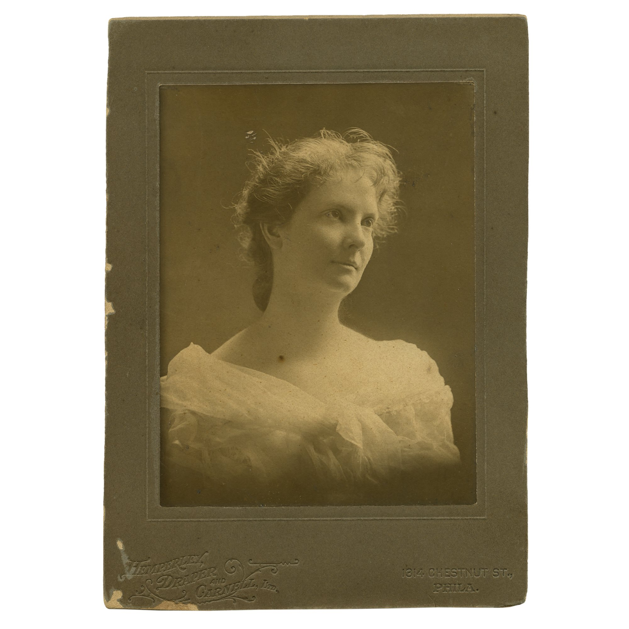 Period portrait of Ethel Page  |  To be offered with the painting