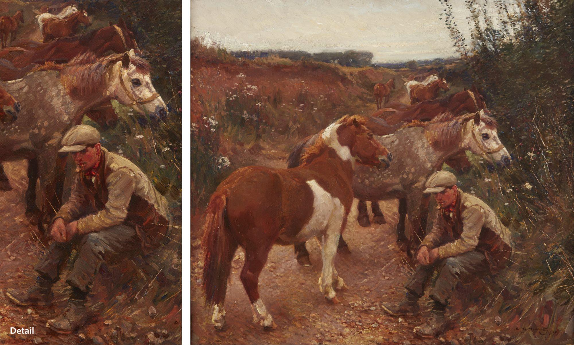 Lot 39: Sir Alfred Munnings (British 1878-1959),