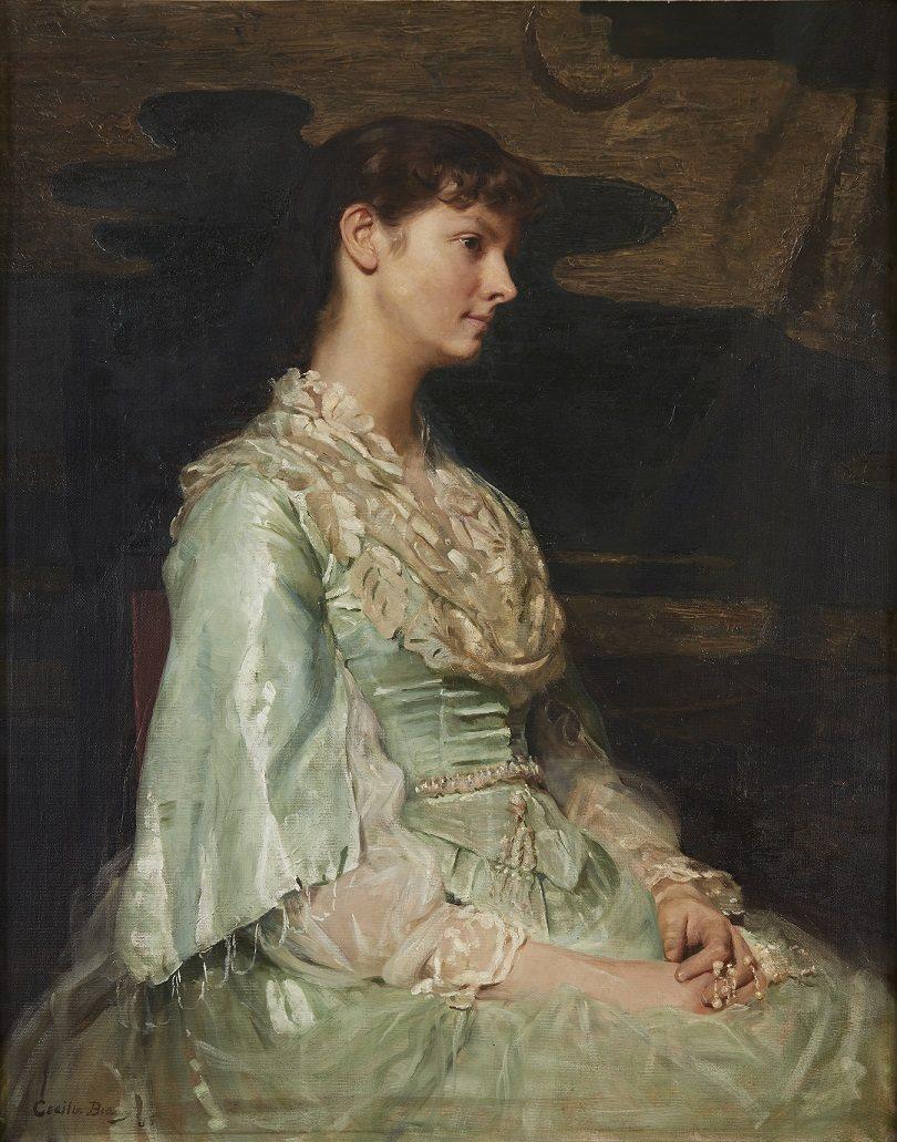 Lot 19  |  Cecilia Beaux (American 1855-1942),