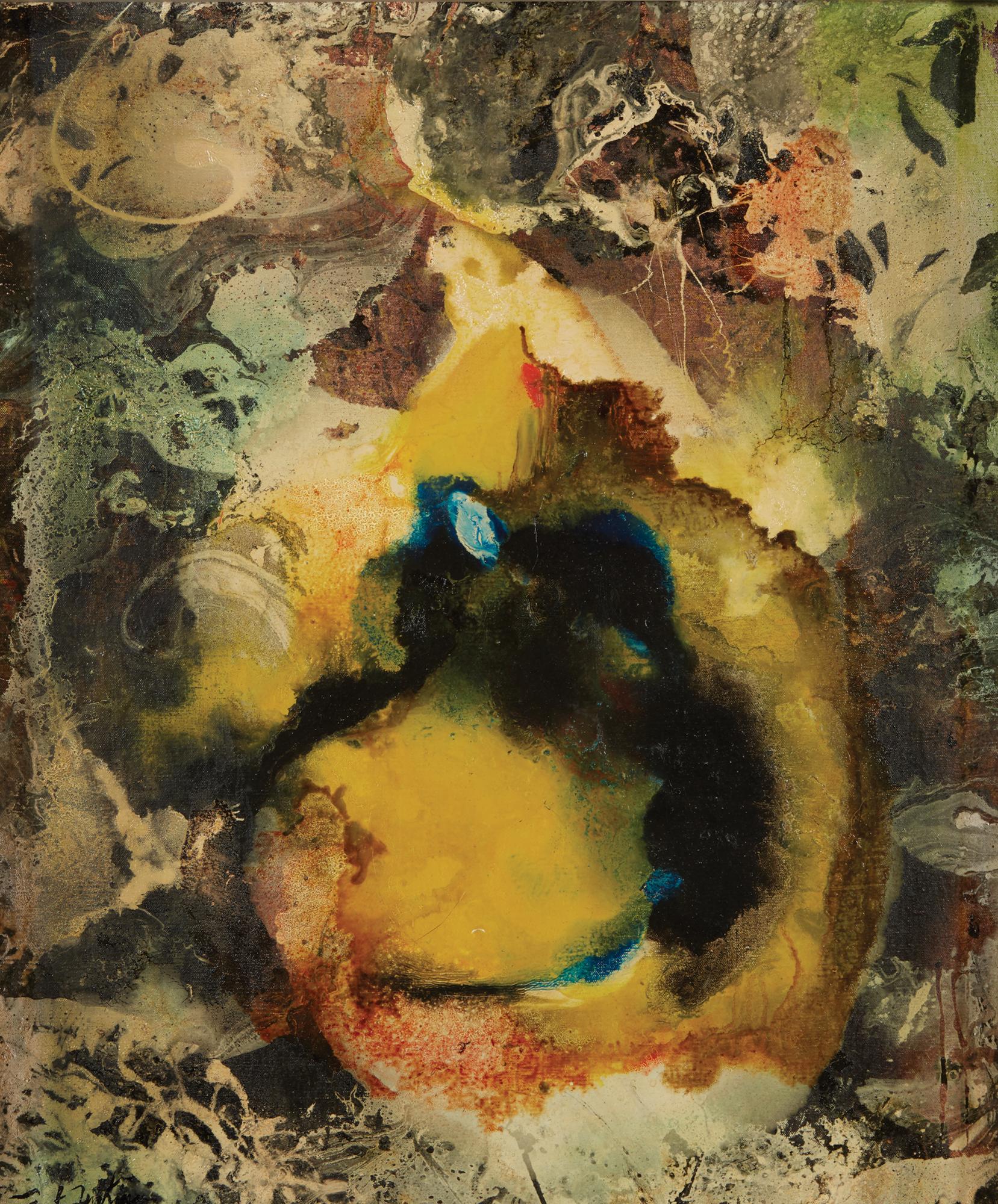 Paul Jenkins (1923-2012)   Chameleon, 1956 oil on canvas, $8,000-12,000