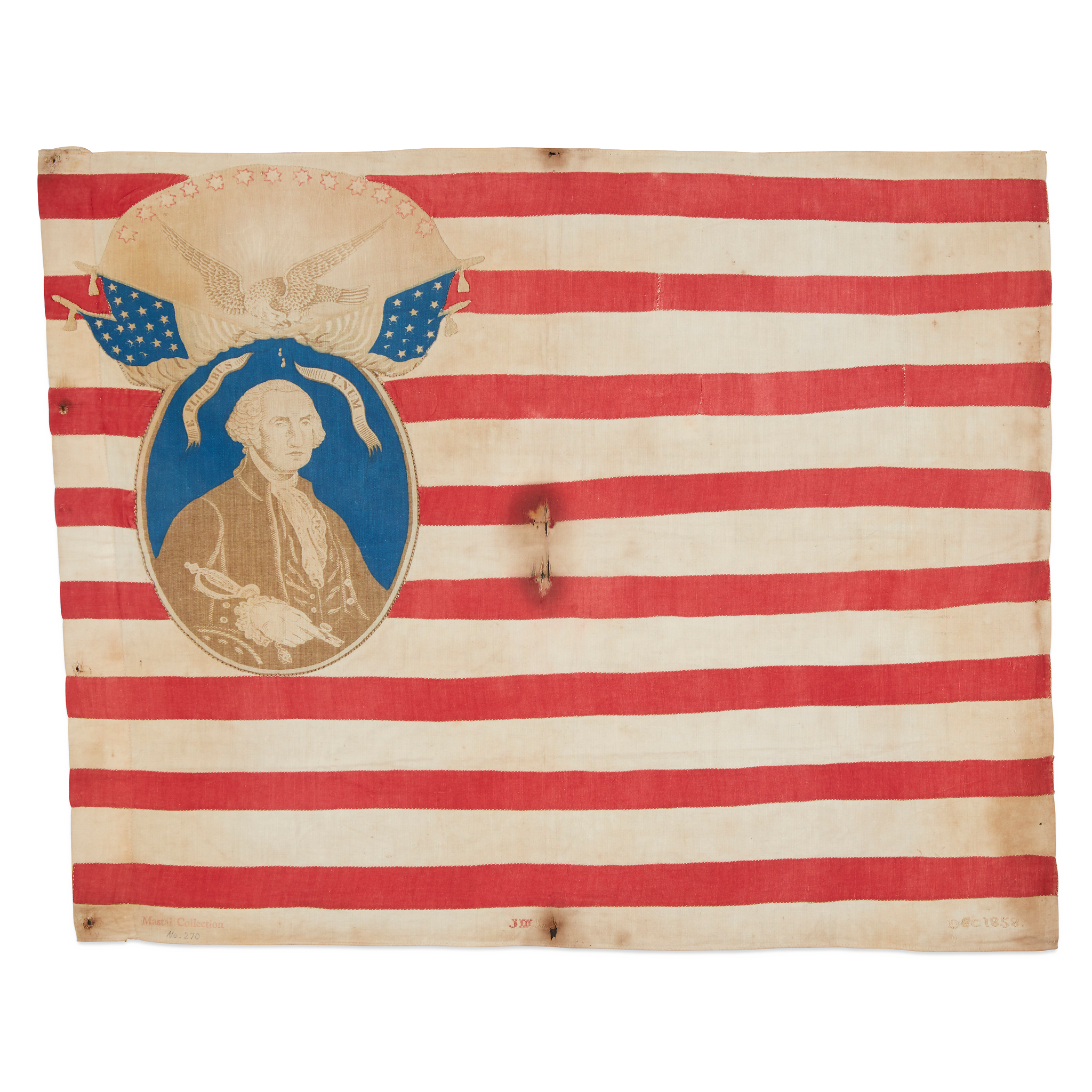 Lot 39 | A 'Know Nothing' American Flag, dated,