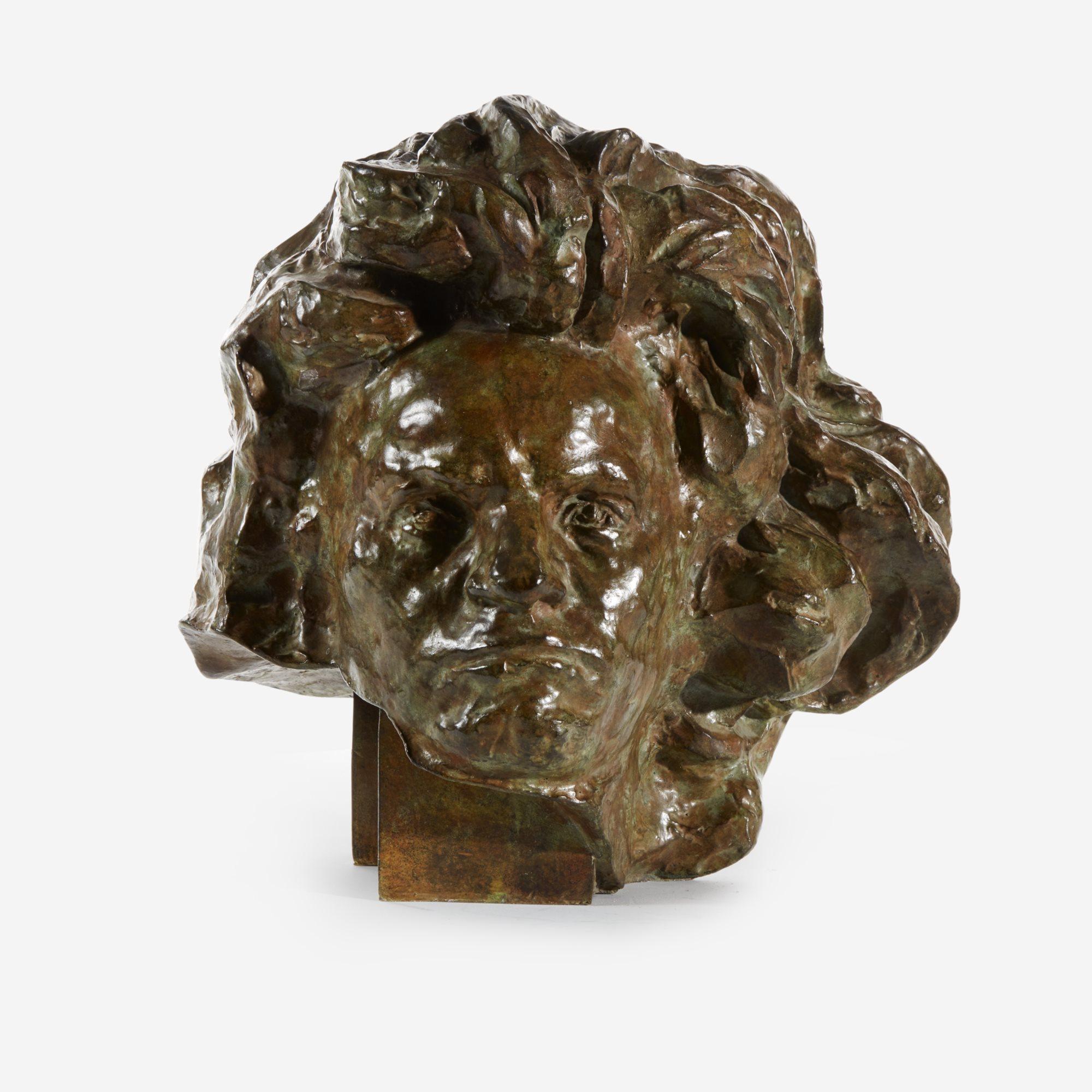 Lot 5 | Beethoven aux Grands Cheveux (étude Pleine), Sold for $43,750