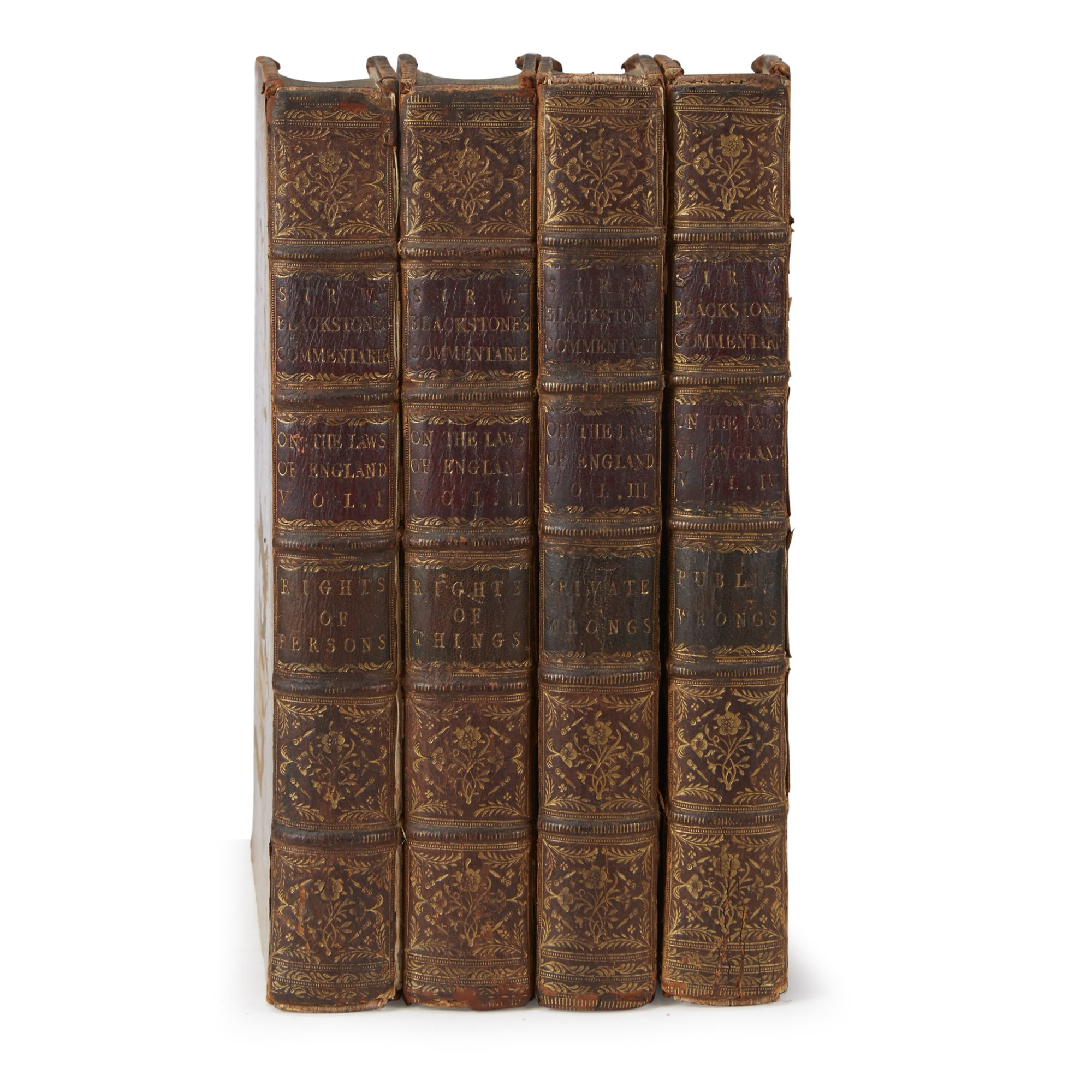 Lot 220  |  [Law] Blackstone, William,