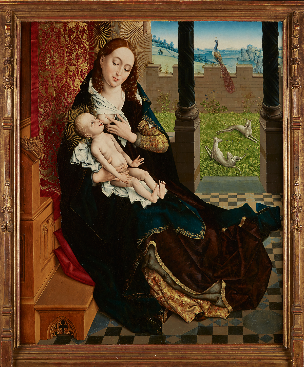 Master of the Embroidered Foliage (Netherlandish, active Brussels, late 15th century),
