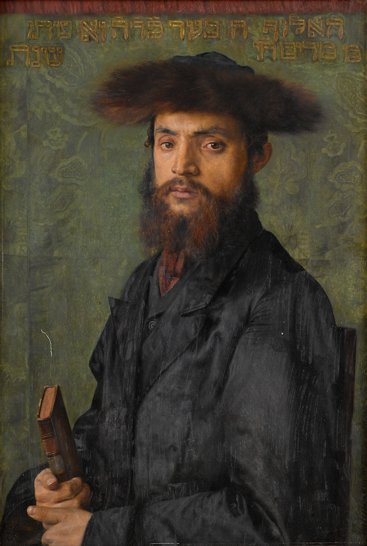 Isidor Kaufman (Austrian/Hungarian 1853-1921), The Zealot (Young Rabbi), Oil on panel, Sold at Freeman's for $185,000