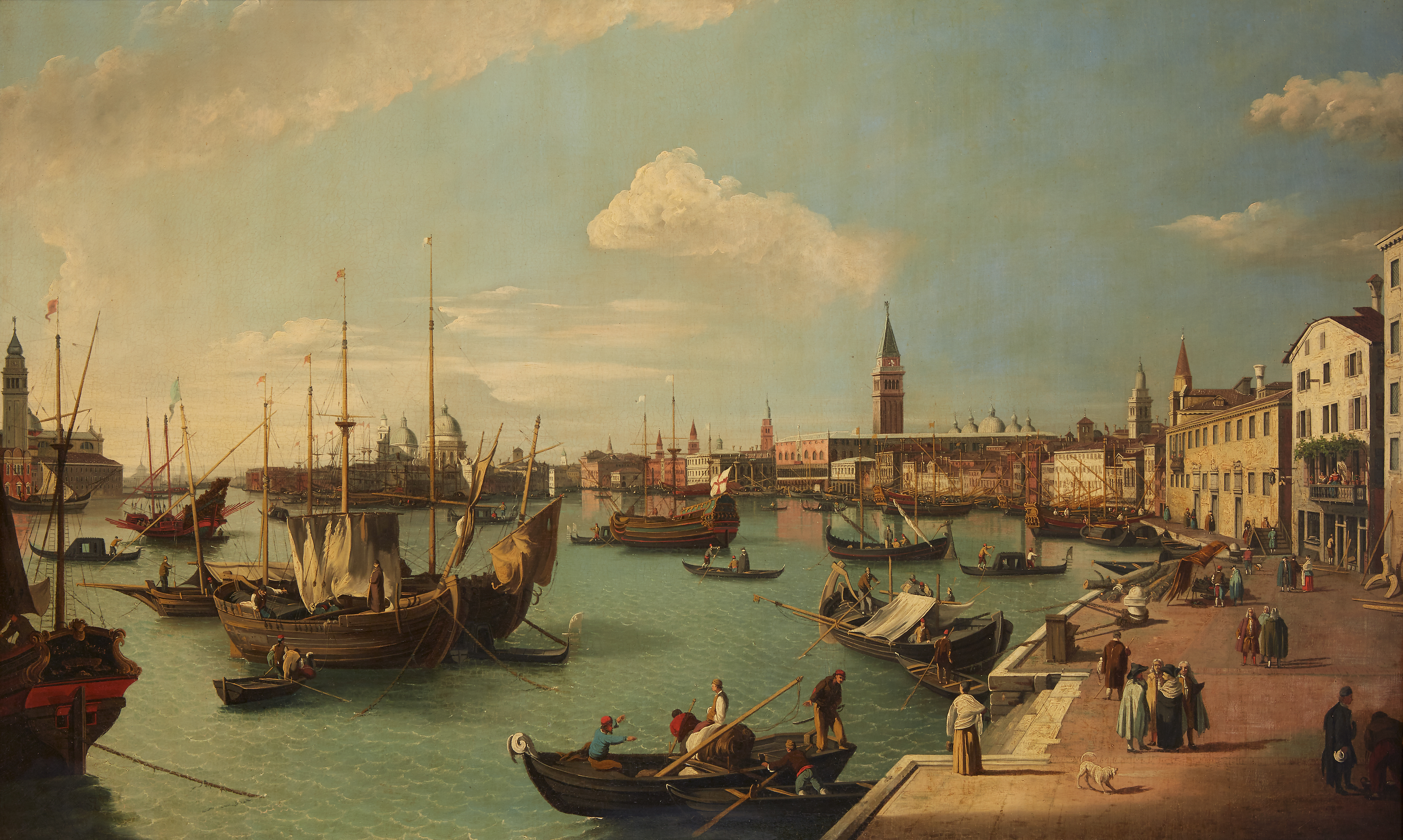 After Canaletto (Italian 1697-1768),