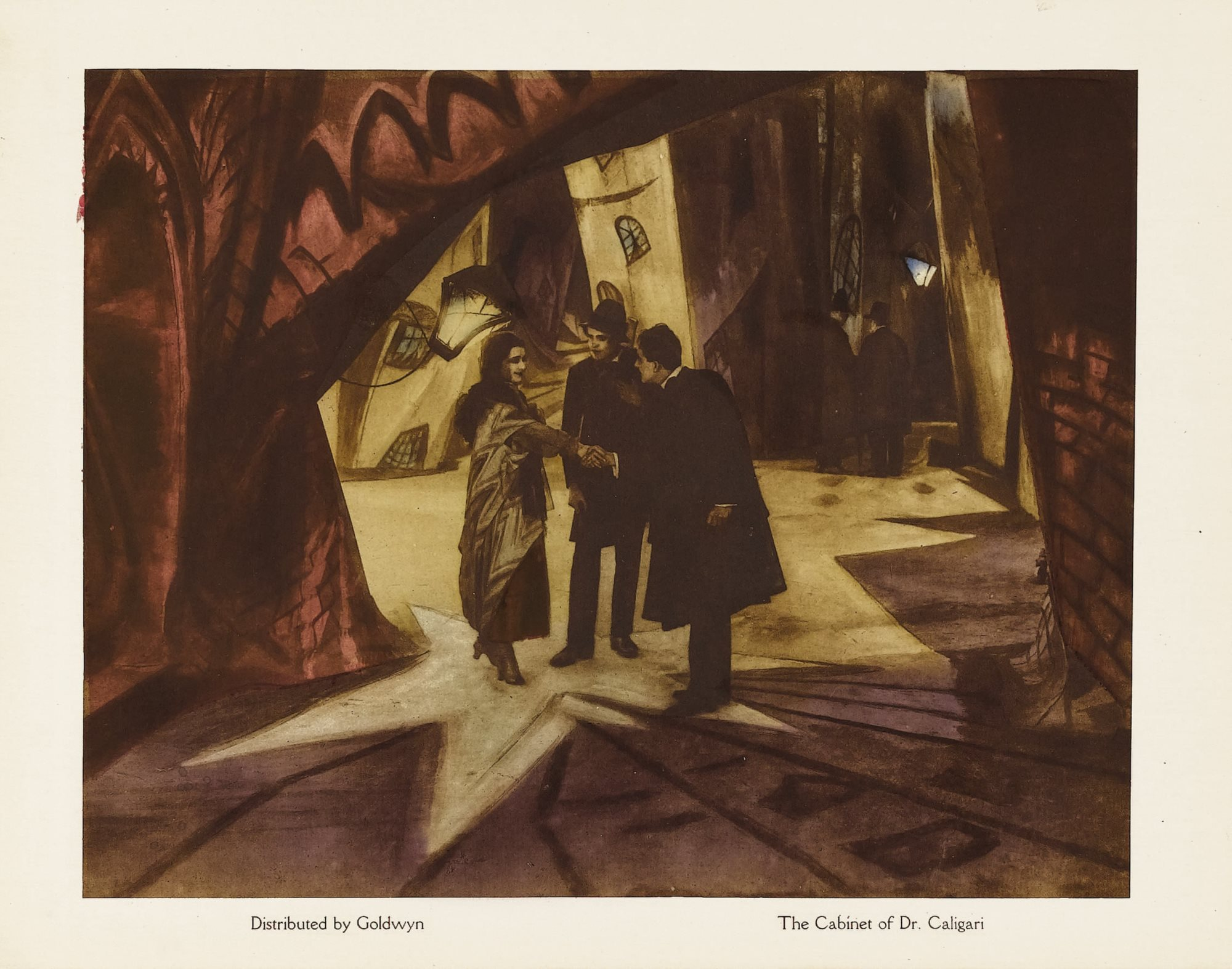 The Cabinet of Doctor Caligari Lobby Card, Goldwyn / Public domain