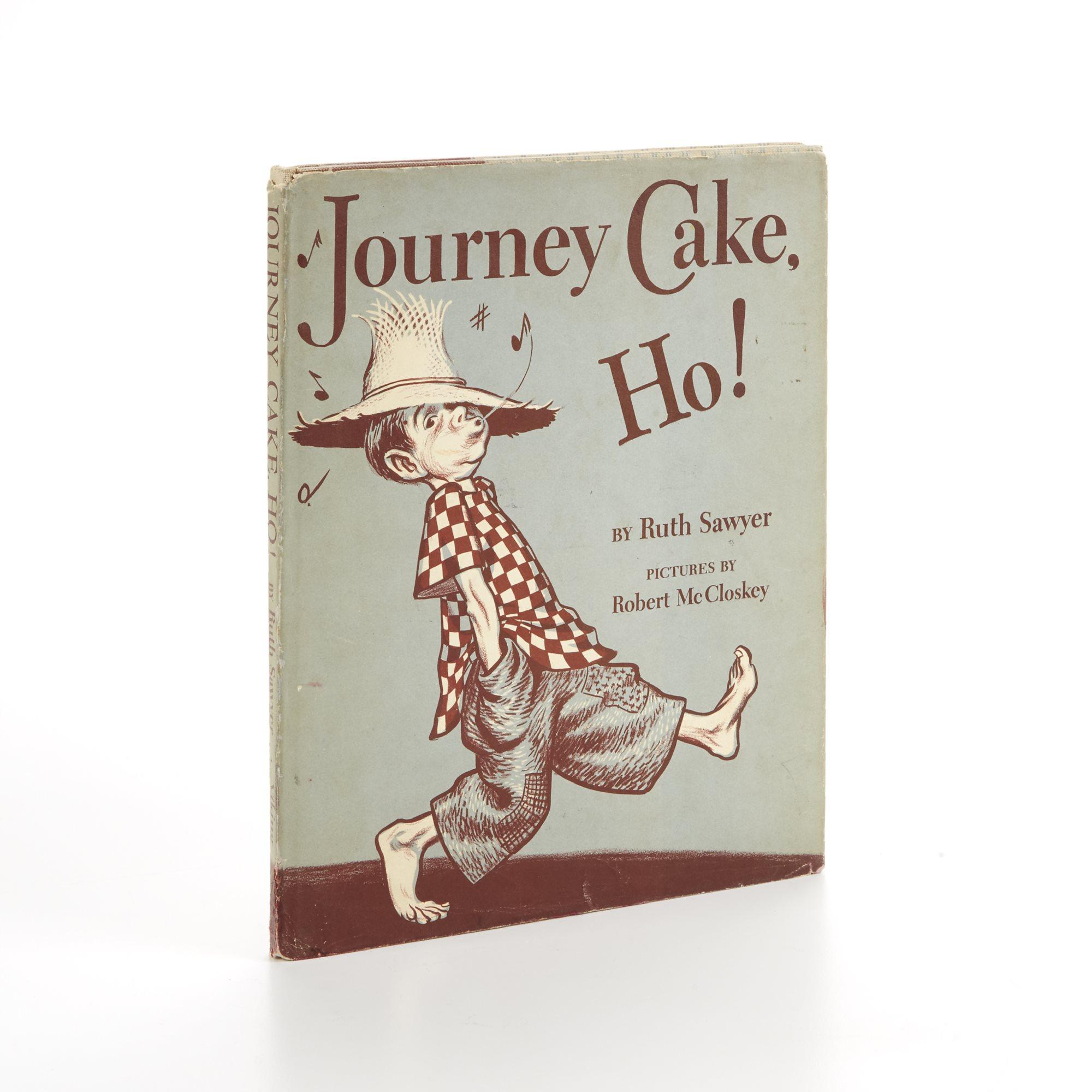 [McCloskey, Robert] Sawyer, Ruth Journey Cake, Ho! New York: The Viking Press, 1953. First edition. A 1954 Caldecott Honor Book.