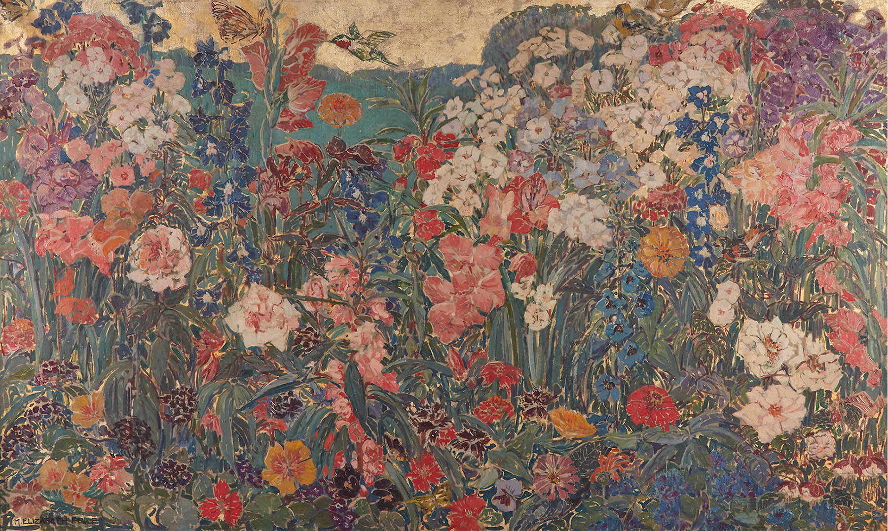 Mary Elizabeth Price painting, Mille Fleurs
