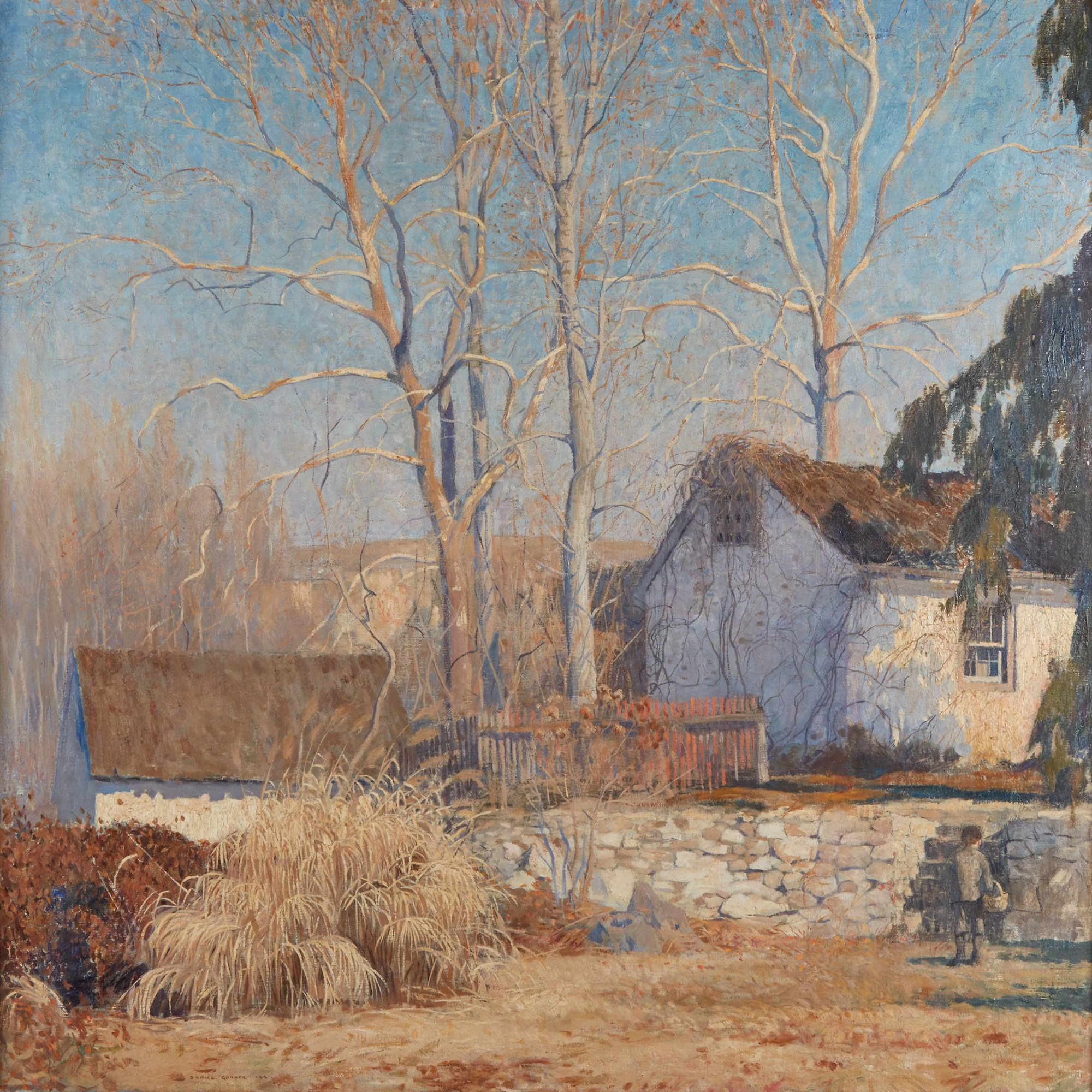 Daniel Garber painting, The Last of Winter