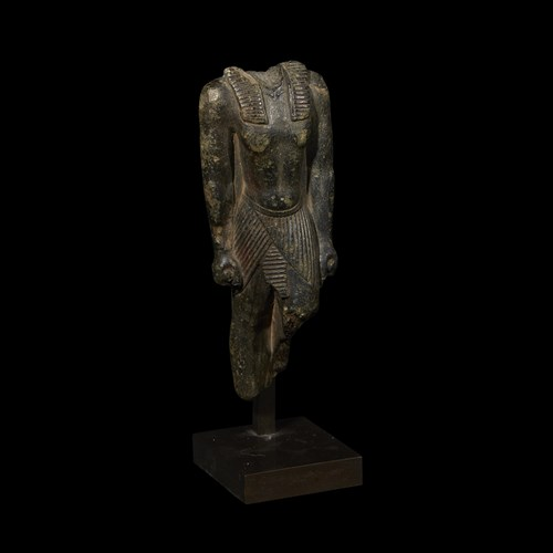 Lot 1 - ANCIENT EGYPTIAN TORSO OF A STRIDING KING
