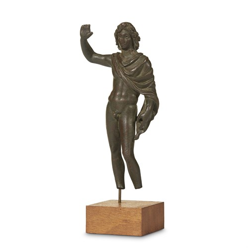 Lot 29 - HELLENISTIC STATUETTE OF ALEXANDER THE GREAT
