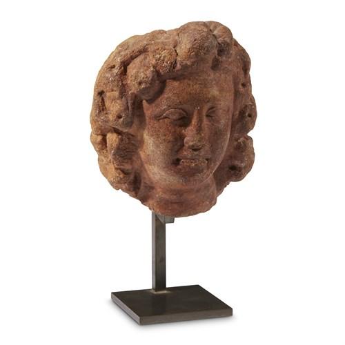 Lot 4 - ROMAN HEAD OF DIONYSOS