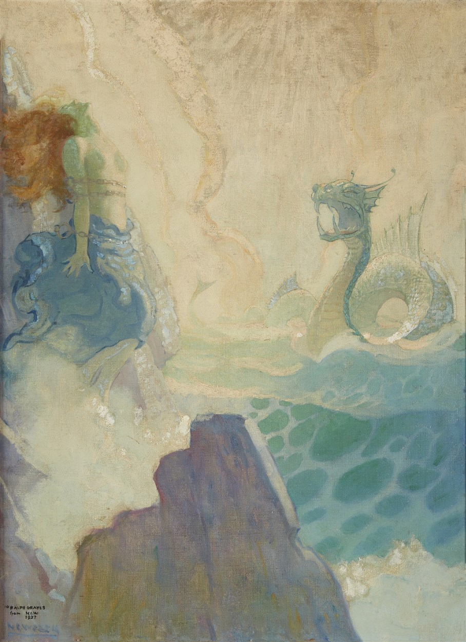Lot 85 - Newell Convers Wyeth (American, 1882-1945)