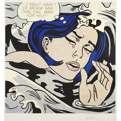 Lot 152 - After Roy Lichtenstein (American, 1923-1997)