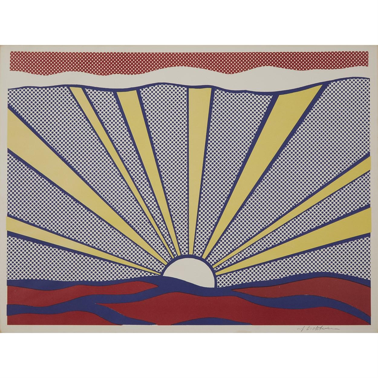 Lot 10 - Roy Lichtenstein (American, 1923-1997)