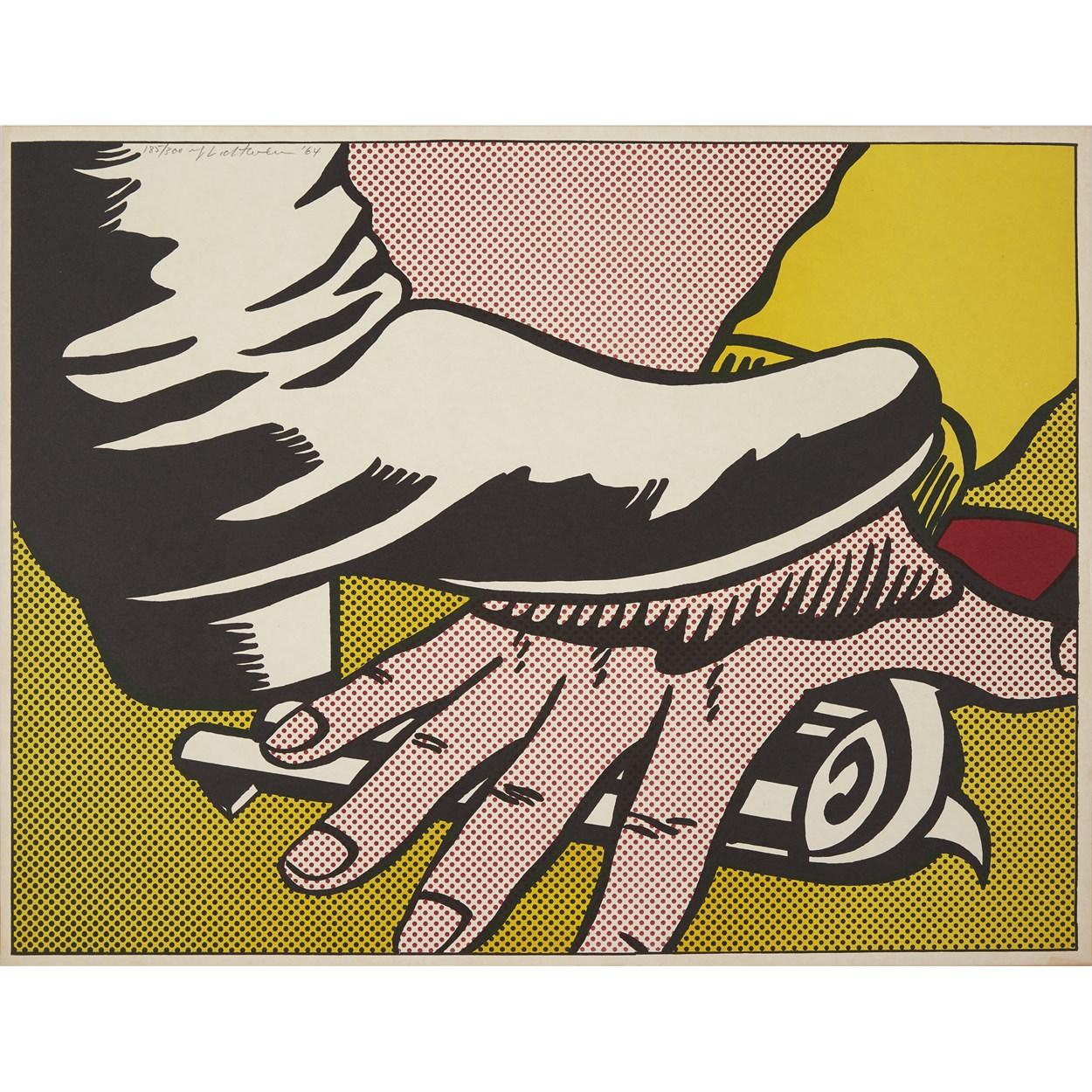 Lot 3 - Roy Lichtenstein (American, 1923-1997)