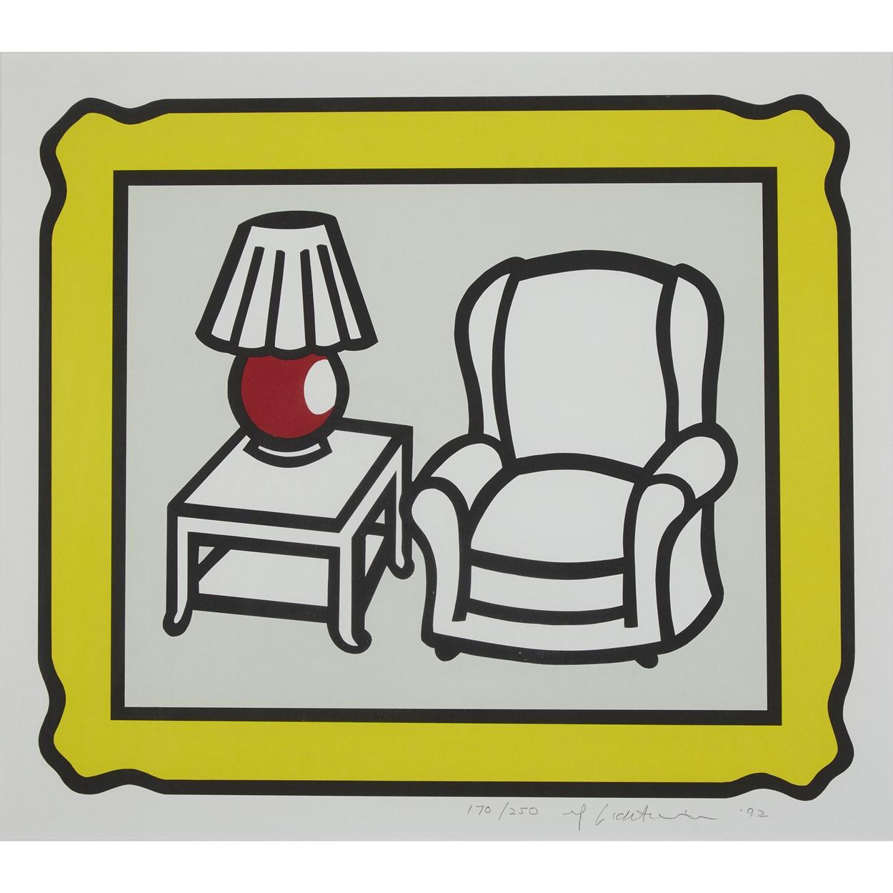 Lot 36 - Roy Lichtenstein (American, 1923-1997)