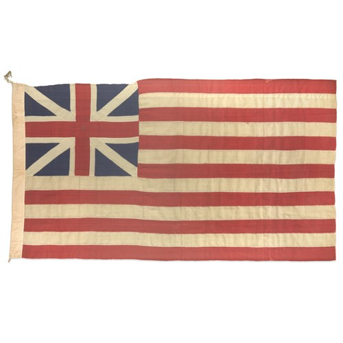 Lot 1 - An American Grand Union Flag or Continental Colors