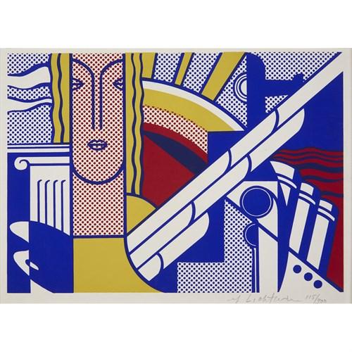 Lot 19 - Roy Lichtenstein (American, 1923-1997)