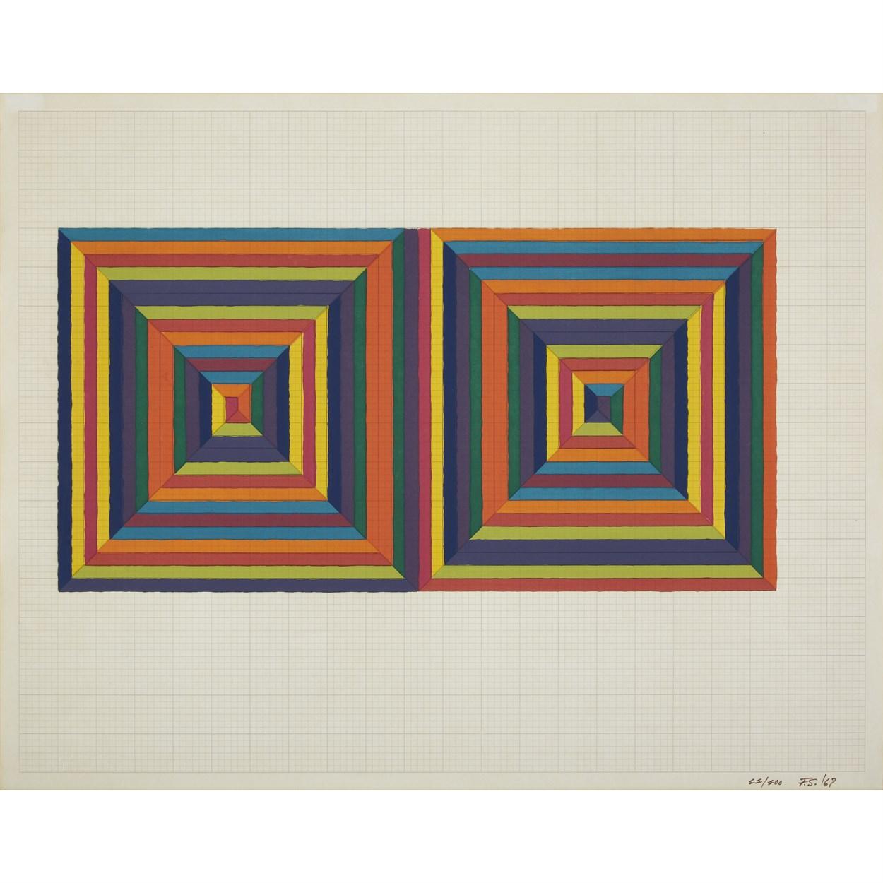 Lot 40 - Frank Stella (American, b. 1936)