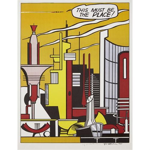 Lot 1 - Roy Lichtenstein (American, 1923-1997)