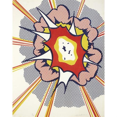 Lot 25 - Roy Lichtenstein (American, 1923-1997)