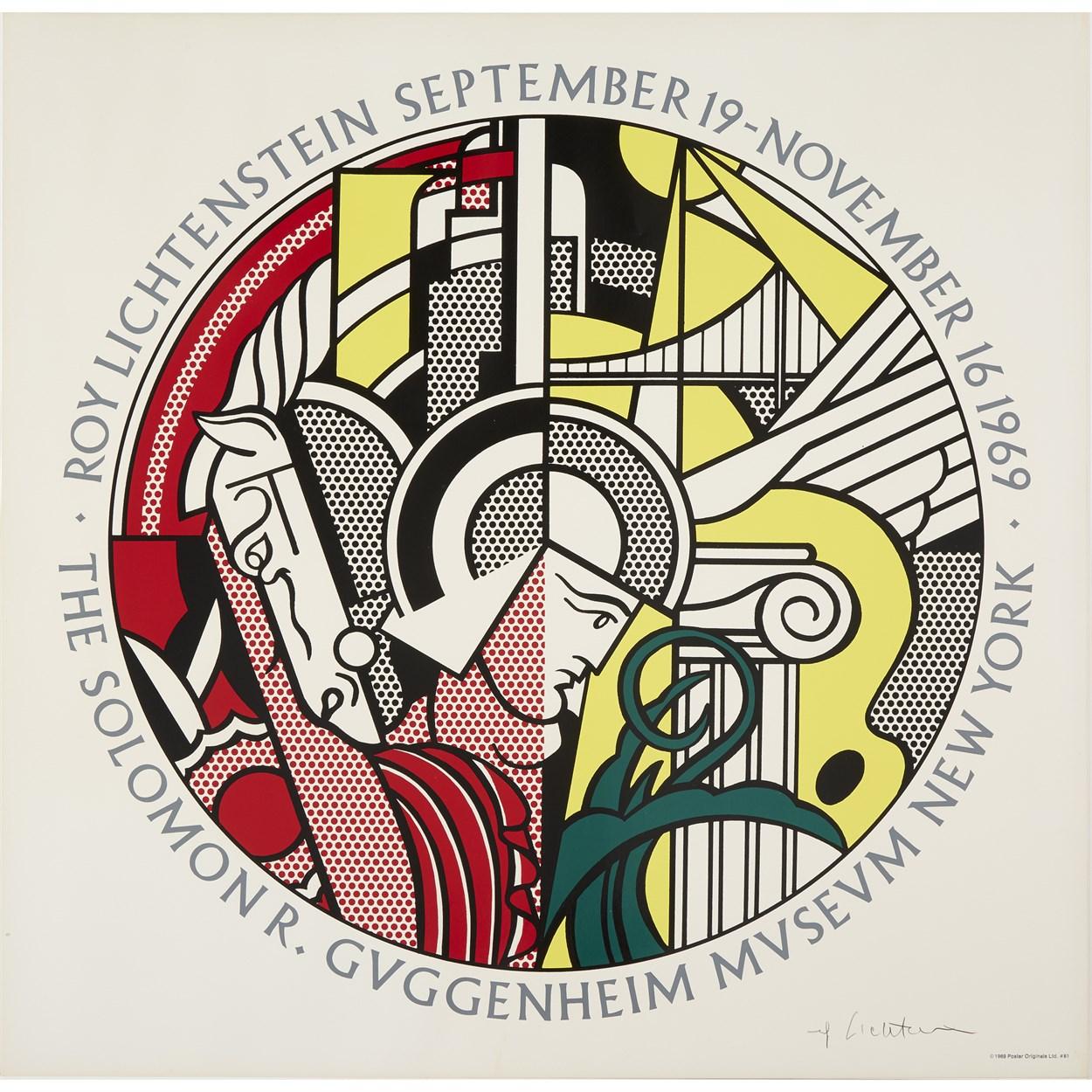Lot 21 - Roy Lichtenstein (American, 1923-1997)