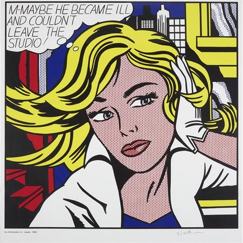 Lot 150 - After Roy Lichtenstein (American, 1923-1997)