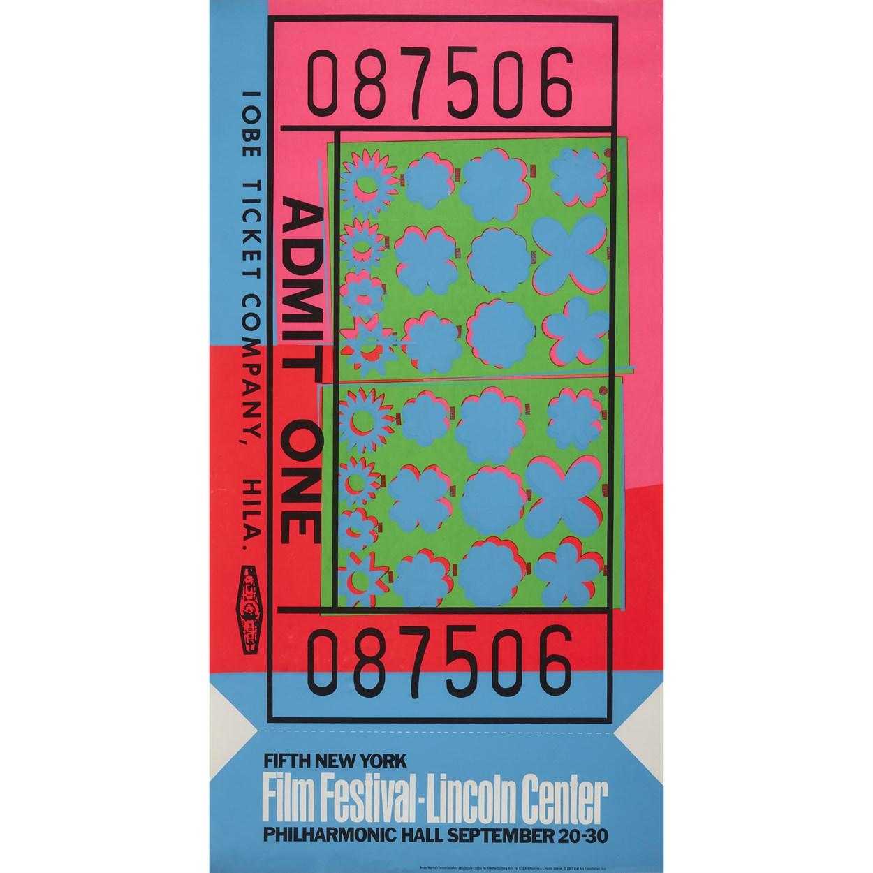 Lot 71 - Andy Warhol (American, 1928-1987)
