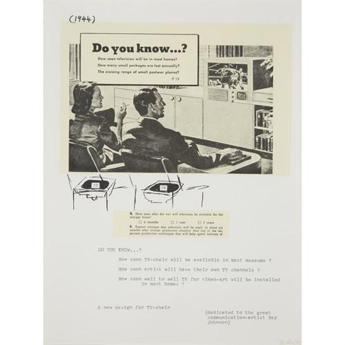 Lot 137 - Nam June Paik (American/Korean, 1932-2006)