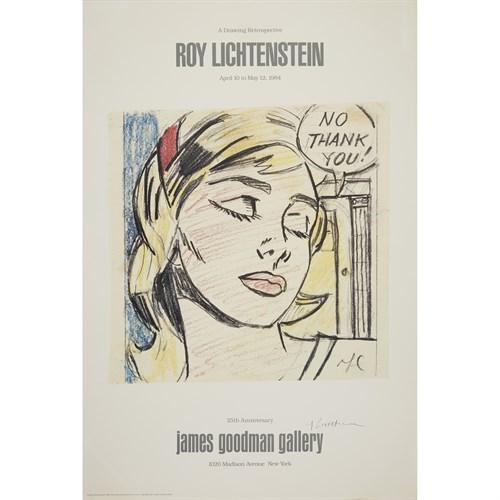 Lot 155 - Two PostersAfter Roy Lichtenstein (American, 1923-1997)