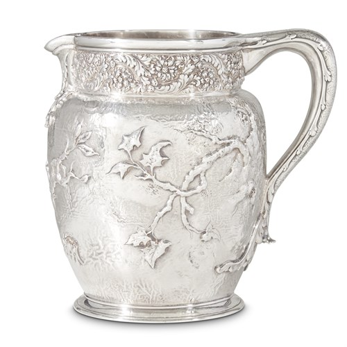 Lot 6 - Sterling silver pitcher