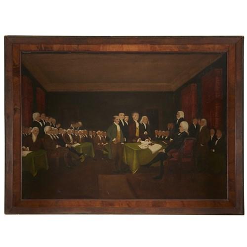 Lot 54 - American School 19th century After John Trumbull (1756-1843)
