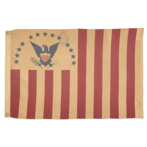 Lot 2 - A United States Revenue Cutter Service Ensign