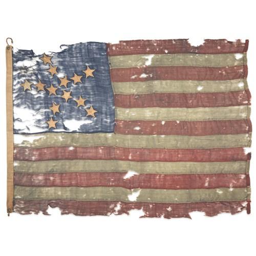 Lot 3 - A 13-Star 'Great Star' pattern American Flag