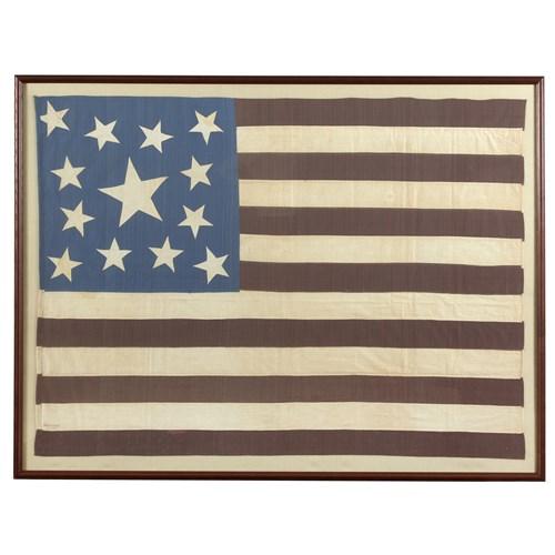 Lot 9 - A 13-Star American Flag