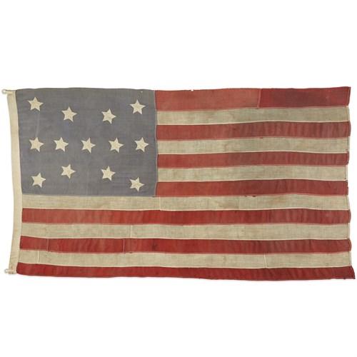 Lot 7 - A 13-Star American Flag