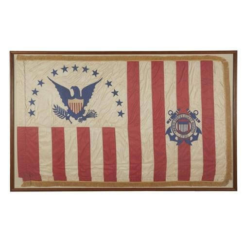 Lot 10 - A 13-Star Coast Guard Flag