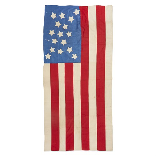 Lot 11 - A 16-Star American Flag commemorating Tennessee statehood