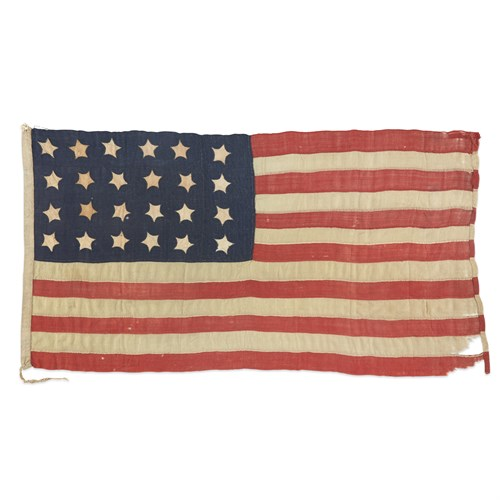 Lot 22 - A 24-Star American Flag commemorating Missouri statehood