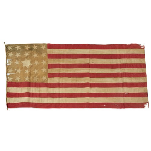 Lot 23 - A 25-Star American Flag commemorating Arkansas statehood or Exclusionary Flag