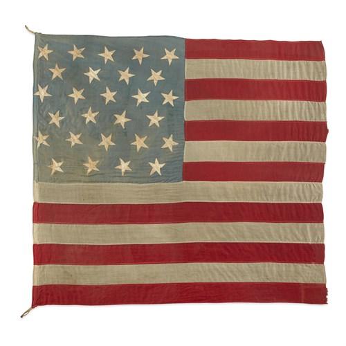 Lot 28 - A 27-Star American Flag commemorating Florida statehood